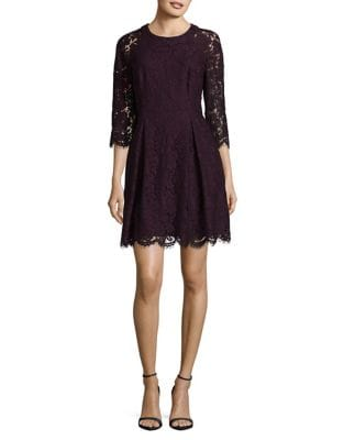 Lace Mini Dress by Vince Camuto