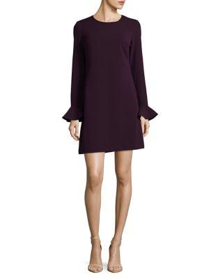 Open-Back Shift Dress by Calvin Klein