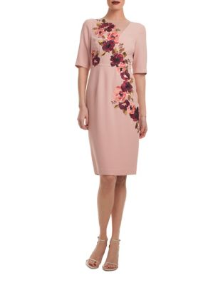Knightly Floral Bodycon Dress by Trina Turk