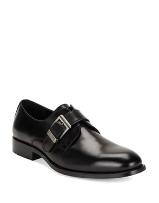 Leather Almond Toe Loafers...