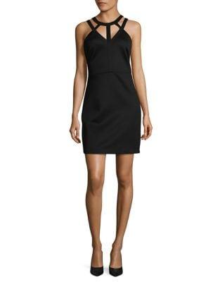 Image of Cutout Neck Dress