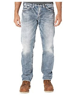 4174f2cd Men's Straight-Leg Jeans: Low Rise & More | Lord + Taylor