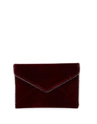 Velvet Envelope Clutch 500087351528