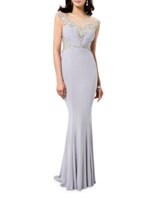 Elegant Floor-Length Gown by Glamour by Terani Couture