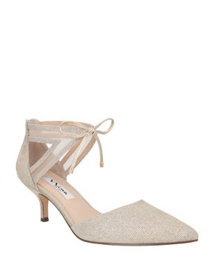 Talley Point Toe Tie Pumps by Nina