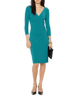 Shirred Jersey Dress by Lauren Ralph Lauren