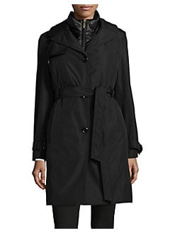 d131ec0ff63 QUICK VIEW. Ellen Tracy. Two-Piece Trench Coat ...