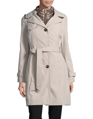 2-in-1 Trench Coat with...