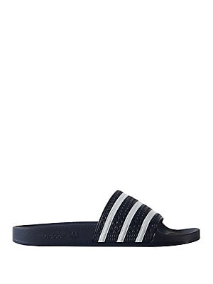 f0090a867 Adidas - Three-Stripe Slides - lordandtaylor.com