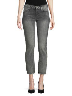 Frayed Hem Denim Jeans 500087365121