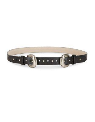 Two-Buckle Belt @...
