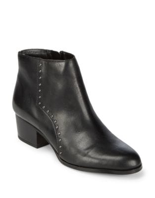 Elysse Leather Booties by Franco Sarto