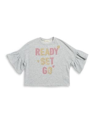 Girl's Graphic Top @...