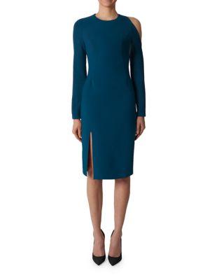 Black Halo COVINA COLD SHOULDER SHEATH DRESS