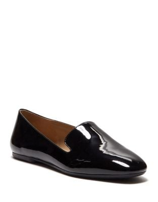 Leonie Patent Smoking Loafer by Enzo Angiolini