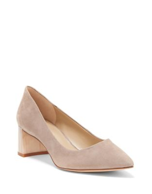 Dailyn Suede Pumps by Enzo Angiolini