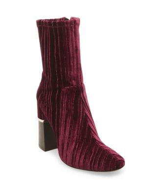 Melina Velvet Booties by Design Lab Lord & Taylor