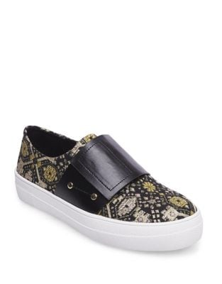Sari Textile Sneakers by Design Lab Lord & Taylor