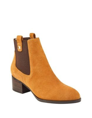 Roxy Suede Booties by Tommy Hilfiger
