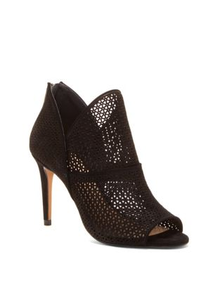 Vatena Leather Booties by Vince Camuto