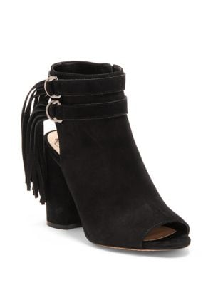 Catinca Suede Booties by Vince Camuto