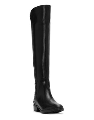 Phadina Tall Leather Boots by Vince Camuto
