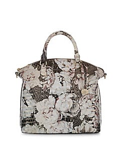 Embossed Leather Shoulder Bag LAGOON. QUICK VIEW. Product image ae4da2843d