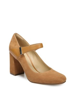 Reva Suede Mary Jane Pump by Naturalizer