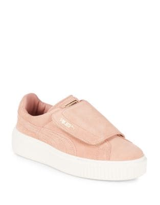 Suede Grip-Tape Platform Sneakers by PUMA