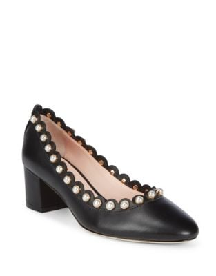 Maeve Leather Pumps by Kate Spade New York