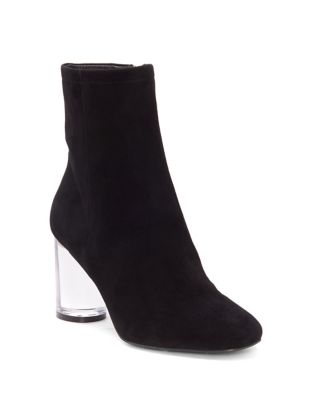 Merta Lucite Booties by Jessica Simpson