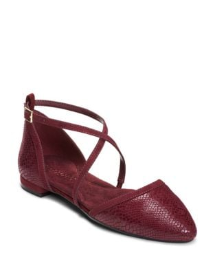 Baby Girl Suede Ankle Strap Flats by Aerosoles