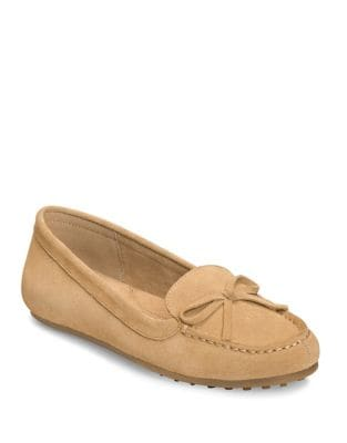 Long Drive Suede Moccasins by Aerosoles