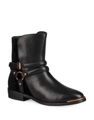 Kelby Buckled Leather Bootie by UGG