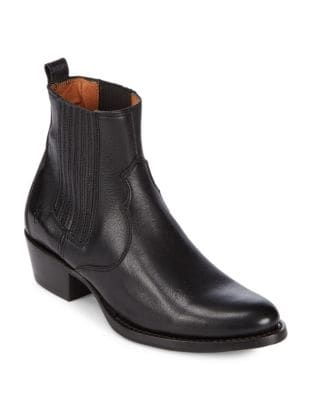 Diana Leather Booties by Frye