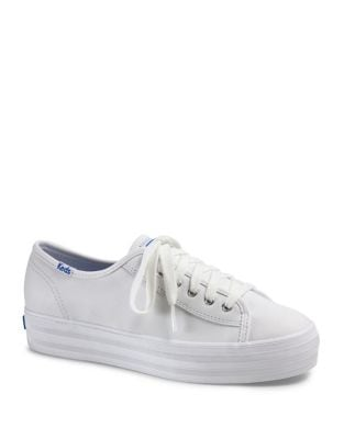 Triple Kick Leather Sneakers by Keds