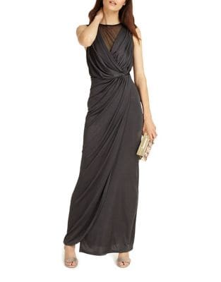 Maxi Dress with Mesh Detail by Phase Eight