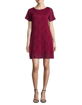 Textured Lace Sheath Dress by Taylor