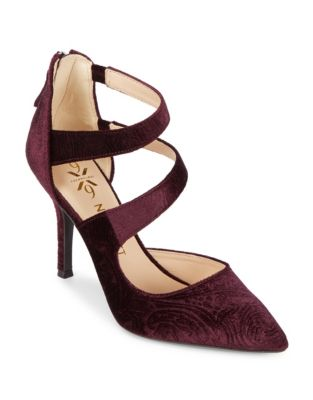 Florent9 Velvet Dress Pumps by Nine West