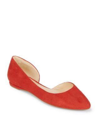 Textured D'orsay Flat by Nine West