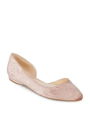 Spruce Textile d'Orsay Flats by Nine West