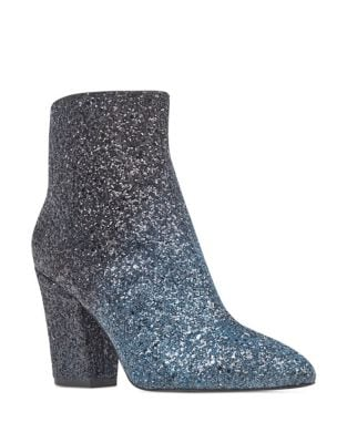 Savita Glittered Bootie by Nine West
