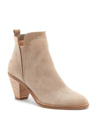 Jana Leather Booties by Lucky Brand