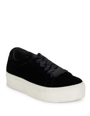 Abbey Velvet Low Top Sneakers
