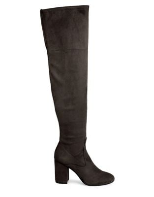 Carah Microsuede Over-The-Knee Boots by Kenneth Cole New York