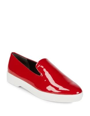Pia Leather Flats by Donna Karan