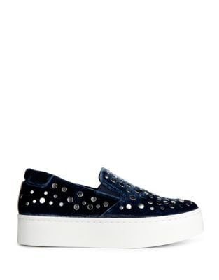 Jeyda Velvet Slip-On Sneakers by Kenneth Cole New York