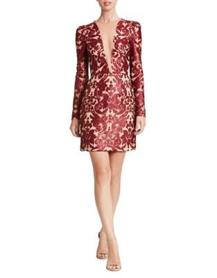 Sequined Sheath Dress by Dress The Population