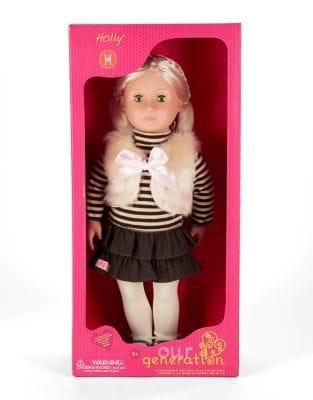 Holly Faux Fur Vest Doll...