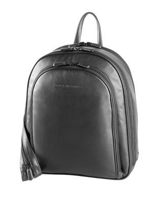 Three-Zip Backpack @...